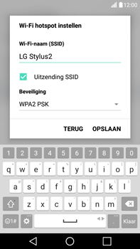 LG K520 Stylus 2 DAB+ - WiFi - Mobiele hotspot instellen - Stap 6