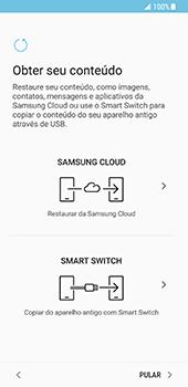 Samsung Galaxy S8 - Primeiros passos - Como ativar seu aparelho - Etapa 15