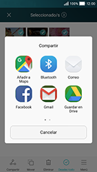 Huawei Y5 - Bluetooth - Transferir archivos a través de Bluetooth - Paso 8