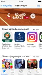 Apple iPhone SE - Aplicaciones - Tienda de aplicaciones - Paso 3