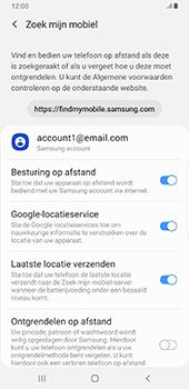 Samsung Galaxy S9 Plus - Android Pie - Toestel - stel Zoek mijn mobiel in - Stap 9