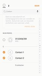 Samsung Galaxy A5 (2016) - Android Nougat - Contactgegevens overzetten - delen via Bluetooth - Stap 7