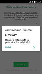 Huawei Ascend Y625 - Aplicações - Como configurar o WhatsApp -  7