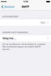 Apple iPhone 4s iOS 8 - E-mail - Handmatig instellen - Stap 20
