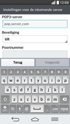 LG D620 G2 mini - E-mail - Account instellen (POP3 met SMTP-verificatie) - Stap 10