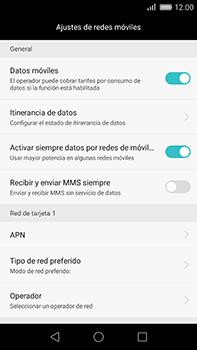 Huawei GX8 - Mensajería - Configurar el equipo para mensajes multimedia - Paso 5