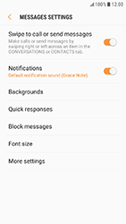 Samsung Galaxy Xcover 4 - SMS - Manual configuration - Step 6