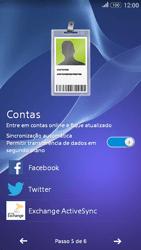 Sony Xperia E4G - Primeiros passos - Como ativar seu aparelho - Etapa 12