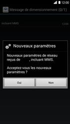 Huawei Ascend G6 - MMS - configuration automatique - Étape 8