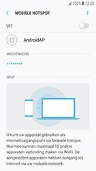 Samsung Galaxy J3 (2017) (SM-J330F) - WiFi - Mobiele hotspot instellen - Stap 11