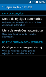 Samsung Galaxy Trend 2 Lite - Chamadas - Bloquear chamadas de um número -  6