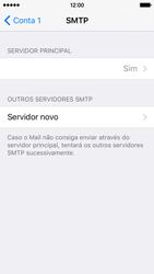 Apple iPhone 5s iOS 9 - Email - Configurar a conta de Email -  17
