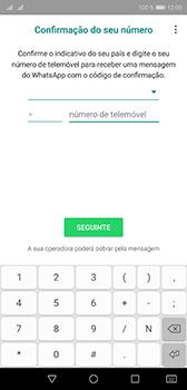 Huawei P20 - Aplicações - Como configurar o WhatsApp -  9