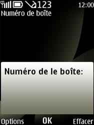 Nokia 6303 classic - Messagerie vocale - configuration manuelle - Étape 7