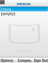 Nokia 6303i classic - E-mail - Sending emails - Step 7