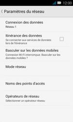Huawei Y3 - Internet - Configuration manuelle - Étape 8