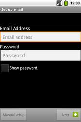 Alcatel OT-991 Smart - Email - Manual configuration POP3 with SMTP verification - Step 8