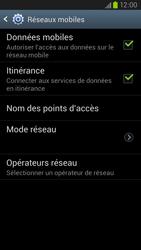 Samsung Galaxy S3 4G - Aller plus loin - Désactiver les données à l'étranger - Étape 6