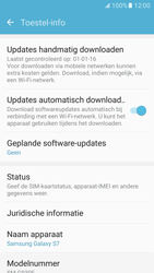 Samsung Galaxy S7 - Software updaten - Update installeren - Stap 5