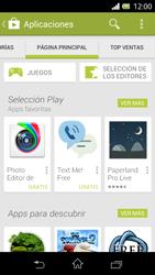 Sony Xperia E - Aplicaciones - Descargar aplicaciones - Paso 5