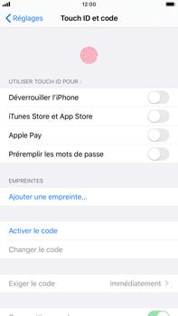 Apple iPhone 8 Plus - iOS 13 - Sécurité - activéz le code PIN de l'appareil - Étape 4