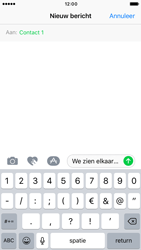 Apple iPhone 6 iOS 10 - MMS - hoe te versturen - Stap 8