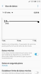 Samsung Galaxy A3 (2017) (A320) - Internet - Ver uso de datos - Paso 9