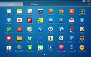 Samsung P5220 Galaxy Tab 3 10-1 LTE - E-mail - e-mail instellen: IMAP (aanbevolen) - Stap 3