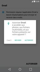 LG X Screen - E-mail - Configuration manuelle - Étape 20