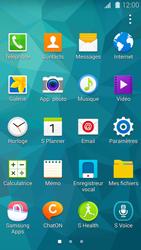 Samsung Galaxy S5 - Photos, vidéos, musique - Créer une vidéo - Étape 3