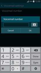 Samsung G850F Galaxy Alpha - Voicemail - Manual configuration - Step 7