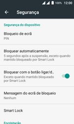 Wiko Sunny DS - Segurança - Como ativar o código de bloqueio do ecrã -  12