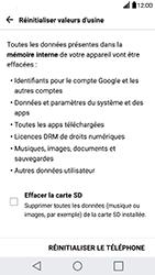 LG H840 G5 SE - Device maintenance - Retour aux réglages usine - Étape 8
