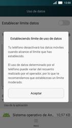 Huawei Y5 - Internet - Ver uso de datos - Paso 8