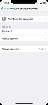 Apple iPhone X - E-mail - Account instellen (IMAP zonder SMTP-verificatie) - Stap 28