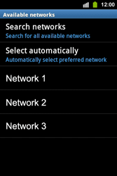 Samsung S5830i Galaxy Ace i - Network - Usage across the border - Step 8