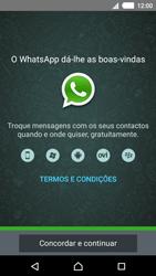 Sony Xperia M4 Aqua - Aplicações - Como configurar o WhatsApp -  5