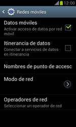 Samsung S7560 Galaxy Trend - Red - Seleccionar una red - Paso 6