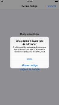 Apple iPhone 7 Plus - iOS 12 - Segurança - Como ativar o código de bloqueio do ecrã -  6