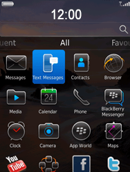 BlackBerry 9800 Torch - SMS - Manual configuration - Step 3