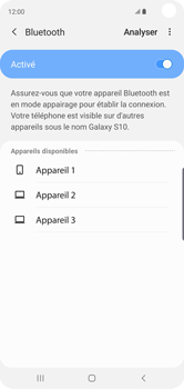 Samsung Galaxy S10 - Bluetooth - connexion Bluetooth - Étape 9