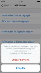 Apple iPhone SE - Aller plus loin - Restaurer les paramètres d'usines - Étape 7