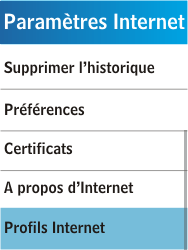 Samsung C3300K - Internet - Configuration manuelle - Étape 6