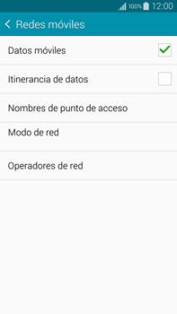 Samsung N910F Galaxy Note 4 - Internet - Activar o desactivar la conexión de datos - Paso 6