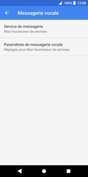 Sony Xperia XZ2 - Messagerie vocale - configuration manuelle - Étape 9