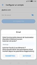 Huawei P10 - E-mails - Ajouter ou modifier votre compte Yahoo - Étape 6