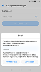 Huawei P10 - E-mail - Configuration manuelle (yahoo) - Étape 6