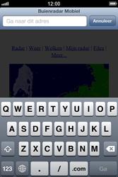 Apple iPhone 4 (iOS 6) - internet - hoe te internetten - stap 15