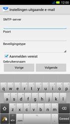 Acer Liquid E3 - E-mail - Handmatig instellen - Stap 12