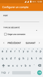 Crosscall Trekker M1 Core - E-mail - Configuration manuelle - Étape 18